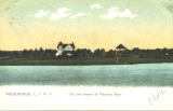 Aquebogue, L. I., N. Y. On the waters of Peconic Bay